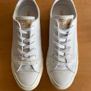 Converse All Star Luxe Leather Low Top Sneaker